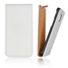 Pouzdro Slim Flip Flexi pro Samsung i9505 Galaxy S4 White