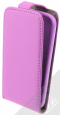 Pouzdro Slim Flip Flexi pro Samsung i9195 Galaxy S4 Mini Pink