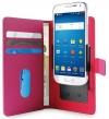 Pouzdro Puro Flipové univerzální/nastavitelné s přihrádkou na karty pro telefony do 5,1