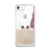 Pouzdro Karl Lagerfeld Peek a Boo TPU zadní kryt pro Apple iPhone 7 zlaté