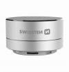 Bluetooth reproduktor Swissten i-METAL stříbrný