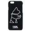 Pouzdro Karl Lagerfeld Head Punk TPU pro Apple iPhone 6/6S