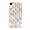 Pouzdro SoSeven (SSBKC0097) Fashion Paris Triangle pro Apple iPhone Xr bílo růžové