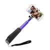 Selfie tyč FIXED hliníková s bluetooth přepínačem modrá