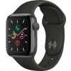 Apple Watch (MWVF2HC/A) Series 5 44mm šedé s černým řemínkem