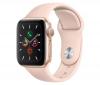 Apple Watch (MWV82HC/A) Series 5 40mm zlaté s růžovým řemínkem
