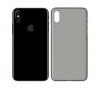 Ochranný kryt 3mk Natural Case pro Apple iPhone Xs poloprůhledný - tmavý