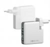 Cestovní nabíječka Forever (ATCMULTI6700FOWH) Core QC3.0/PD, vestavěná powerbanka s 6700 mAh bílá