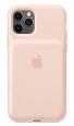 Pouzdro Apple iPhone 11 Pro Smart Battery Case růžové