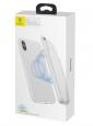 Powerbanka Baseus (ACAPIPHX-ABJ02) s pouzdrem pro Apple iPhone X/Xs 5.000 mAh bílá