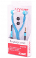 Stereo sluchátka Accent EPS-102 s mikrofonem modrá