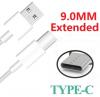 Datový kabel BlackView Type-C s delším koncem bílý