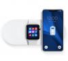 Bezdrátová nabíječka KT-IW 3v1 15W Apple Watch/iPhone/Airpods bílá