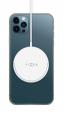 Bezdrátová nabíječka FIXED (MagPad) s podporou MagSafe 15W bílá