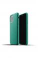 Pouzdro MUJJO Full Leather pro Apple iPhone 11 Pro zelené