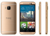 HTC One M9 Gold on Gold