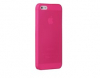 Ozaki O!coat 0.3 JELLY pro Apple iPhone5/5S/SE růžový