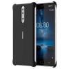 CC-801 Nokia Soft Touch Case Black pro Nokia 8 Black (EU Blister)