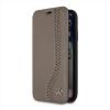 MEFLBKPXCSPBR Mercedes Book Case New Bow Walnut Brown pro iPhone X