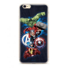 MARVEL Avengers 001 Zadní Kryt pro iPhone XS Max Dark Blue