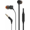 JBL T110 In-Ear Headset 3,5mm Black (EU Blister)