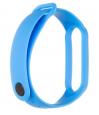 Tactical 667 Silikonový Řemínek pro Xiaomi Mi Band 5/6 Blue