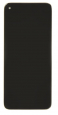 Motorola G8 LCD Display + Dotyková Deska + Přední Kryt Black (Service Pack)