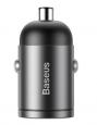 Baseus VCHX-B0G Tiny Star Quick Charge USB-C Nabíječka do Auta 30W Gray
