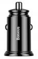 Baseus CCALL-YD01 Circular Dual USB QC3.0 Nabíječka do Auta 30W Black