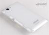Jekod TPU ochranné pouzdro White pro Sony Xperia L
