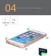 Ultratenký hliníkový bumper iPhone 6 Plus - zlatý