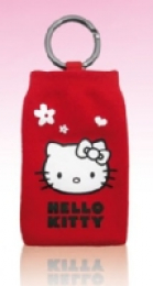 Hello Kitty Ponožka Red