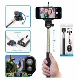 4-OK Selfie tyč Bluetooth Monopod
