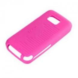 Nokia CC-1002 silikonové Originální pouzdro 5530, růžové