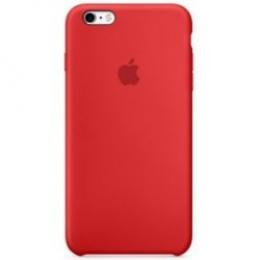 Pouzdro Apple iPhone 6s Silicone Case červené