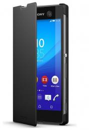 Pouzdro Sony SCR48 Style Cover Stand Xperia M5 černé