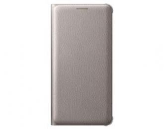 Pouzdro Samsung EF-WA510PF zlaté pro Samsung Galaxy A5 2016