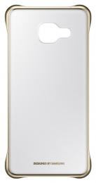 Pouzdro Samsung EF-QA310CF zlaté pro Samsung Galaxy A3 2016