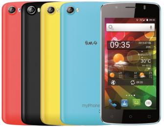 myPhone Fun 4 Black + tři kryty