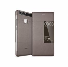 Huawei Original S-View Pouzdro Brown pro Huawei P9