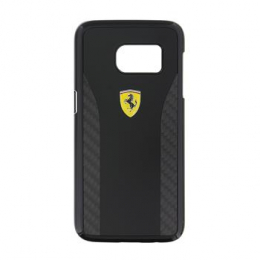 Ferrari Daytona Hard Case Black/Carbon pro Samsung Galaxy S7