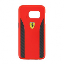 Ferrari Daytona Hard Case Red/Carbon pro Samsung Galaxy S7