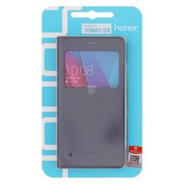 Huawei Original S-View Pouzdro Grey pro Huawei Honor 5X
