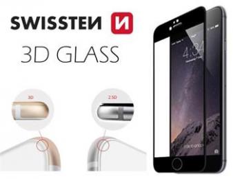 Swissten Tvrzené Sklo 3D H pro Apple iPhone 6/6S černé