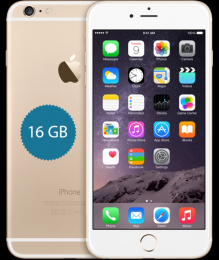 Apple iPhone 6 Plus 16GB Gold CPO - 12 měsíců záruka