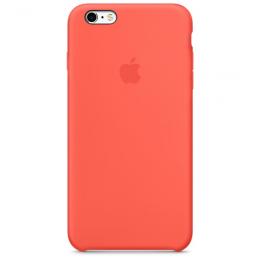 Pouzdro Apple iPhone 6s Silicone Case meruňkové