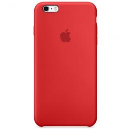 Pouzdro Apple iPhone 6s Plus Silicone Case červené