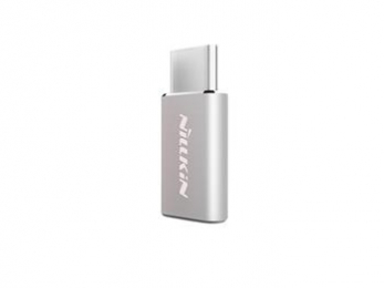 Nillkin Adapter microUSB/Type C Silver
