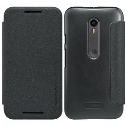 Nillkin Sparkle Folio Pouzdro Black pro Motorola G3