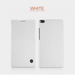 Nillkin Qin Book Pouzdro White pro Huawei P8